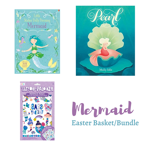 Mermaid: Easter Basket/Bundle