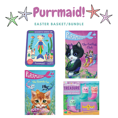 Purrmaids Easter Basket/Bundle