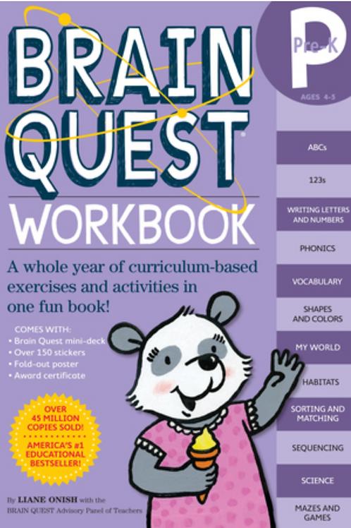 Brain Quest Workbook: Pre-School
