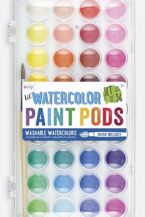 'Lil Watercolor Paint Pods