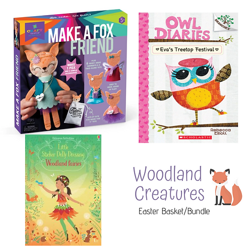 Woodland Creatures: Easter Basket/Bundle