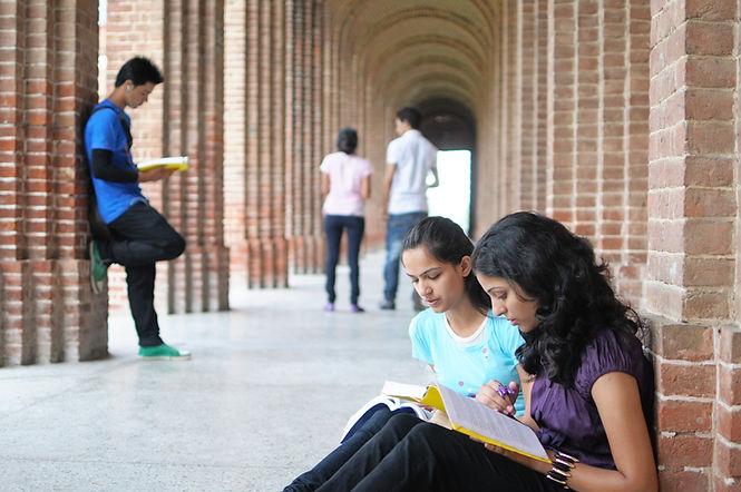Girls Studying
