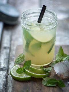 Limetten Limonade