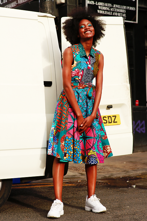 a606fd4ac1b Home of African Fashion | Greater London | SosoMe | Blue Pink mix ...