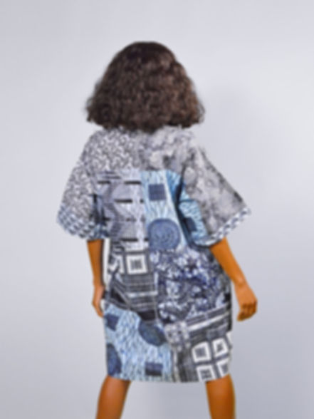 sosome african print dress