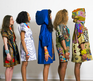 Sosome African print Tunic dresses