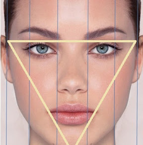 從溝通三角區看你的臉部輪廓
