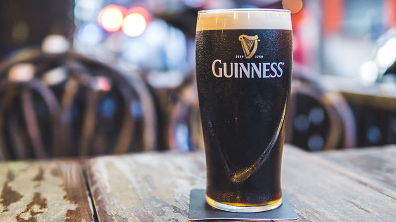 Perfect. Guinness. Header