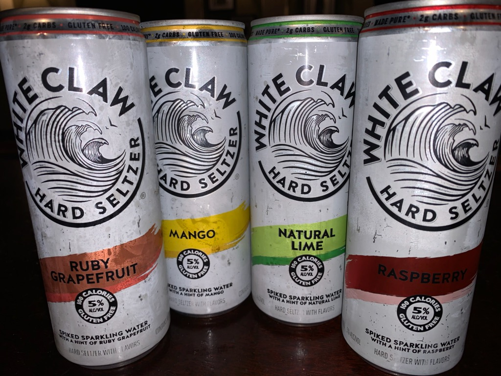 White Claw! Get your White Claw!