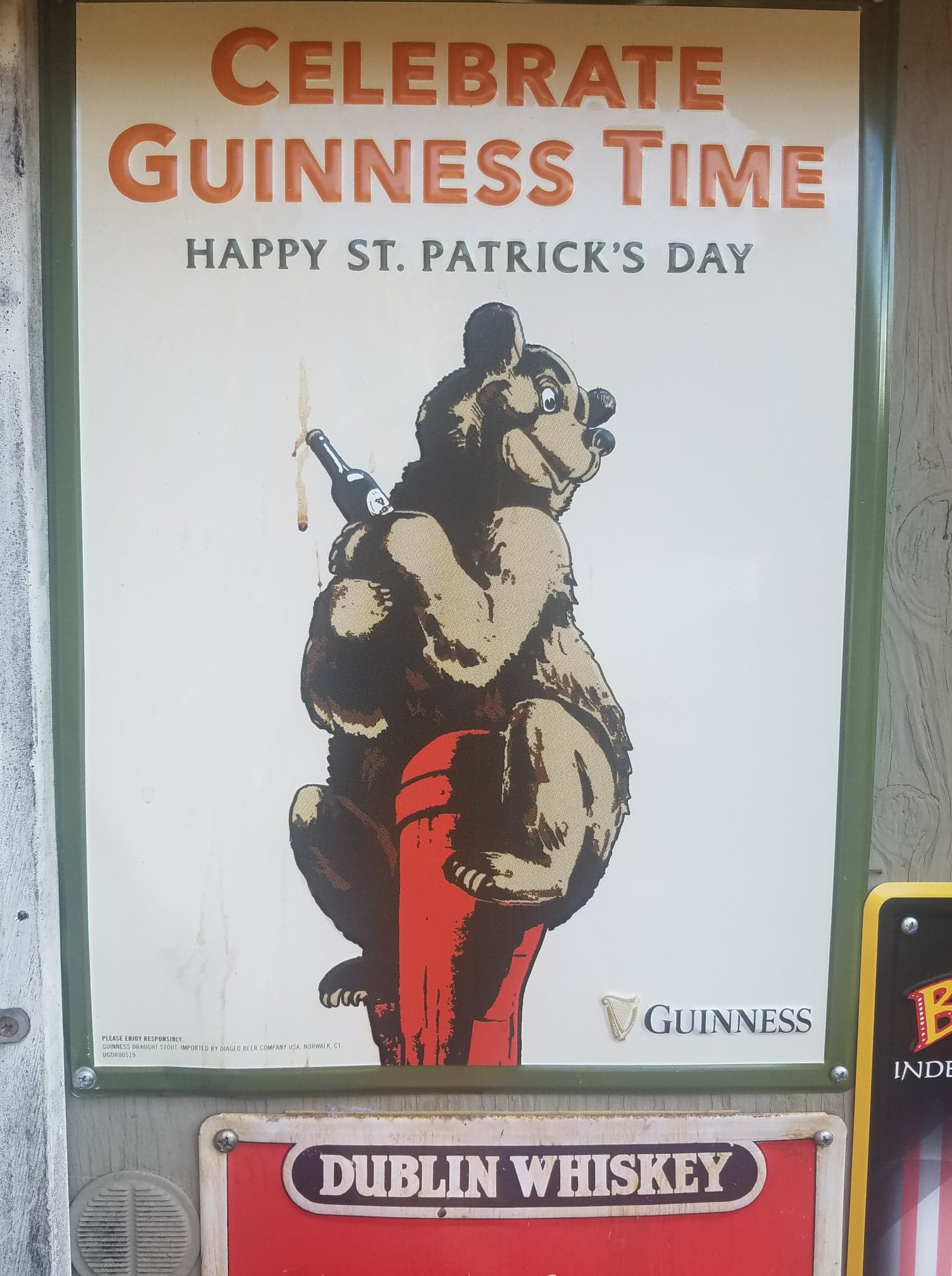 Guinness Time Paddys Day