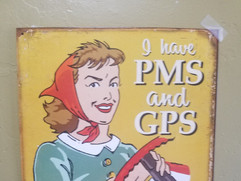 PMS and GPS!