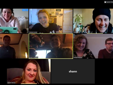 1st Virtual Happy Hour!