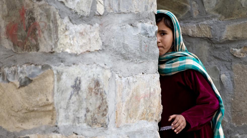 Mädchen in der Provinz Paktika