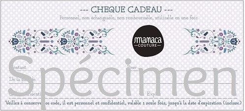 Chèque cadeau - A partir de 10€