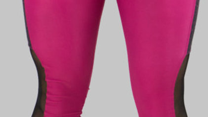 Nvolved Pink Leggings with Cell Phone Pocket