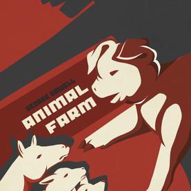 animal farm cover design