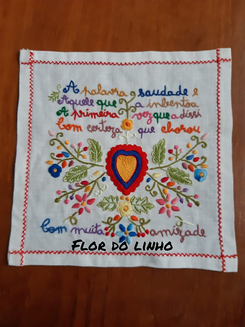 Ref 1 - 0.25 × 0.25 cm 75% de linho - Flor do Linho