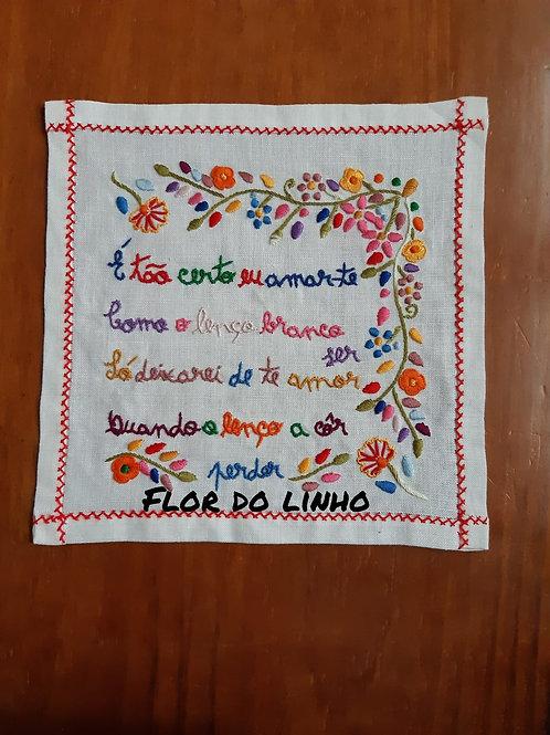 Ref 3 - 0.25 × 0.25 cm 75% de linho - Flor do Linho