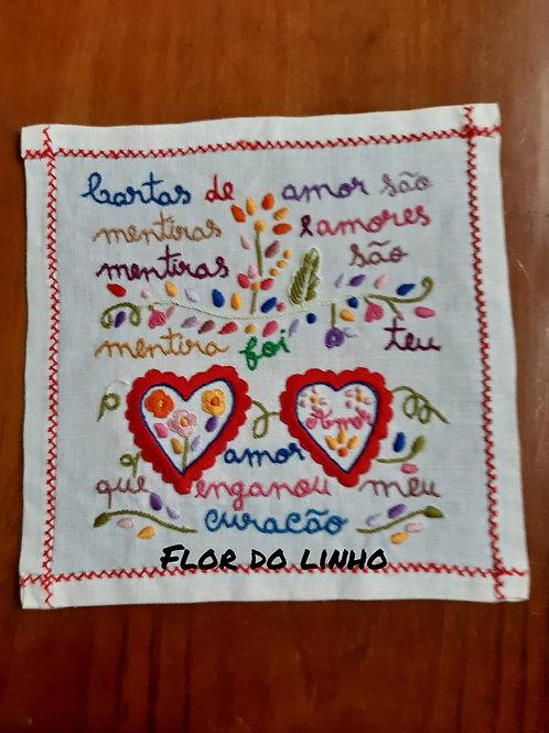 Ref 6 - 0.25 × 0.25 cm 75% de linho - Flor do Linho