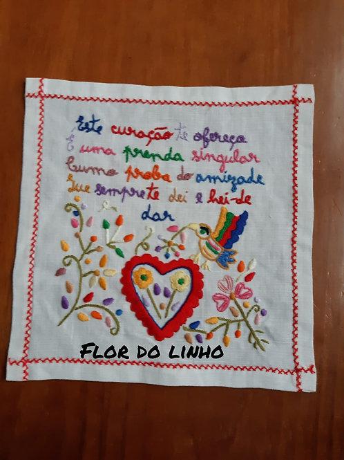 Ref 5 - 0.25 × 0.25 cm 75% de linho - Flor do Linho