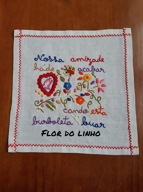 Ref 4 - 0.25 × 0.25 cm 75% de linho - Flor do Linho