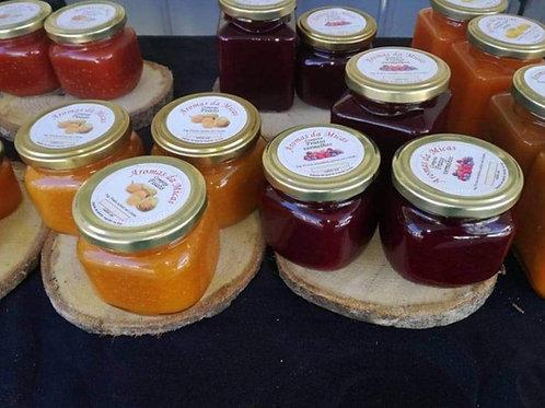 Frasco de doce 250ML (Fisalys e frutos vermelhos)- Aroma da Micas