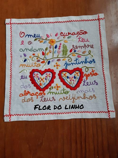 Ref 2 - 0.25 × 0.25 cm 75% de linho - Flor do Linho