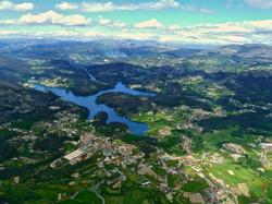 Vista aérea da Freguesia Guilhofrei