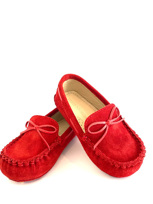 Zapato de Bebé Rojo