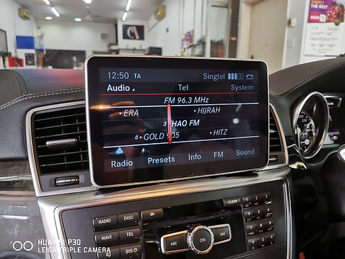 Android ATC Mercedes ML350 2013-2015