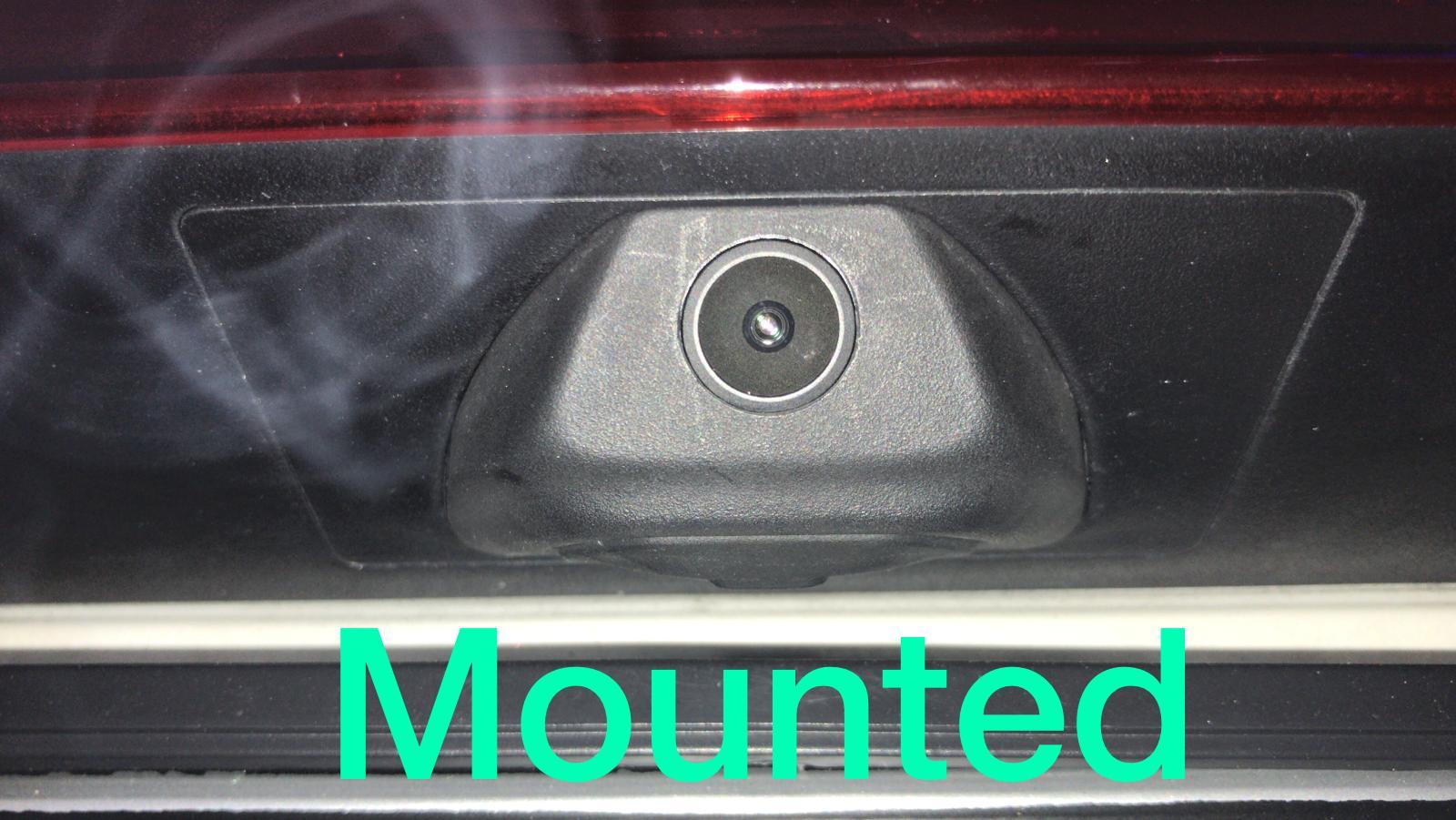 Pixels AHD Reverse Camera mounted
