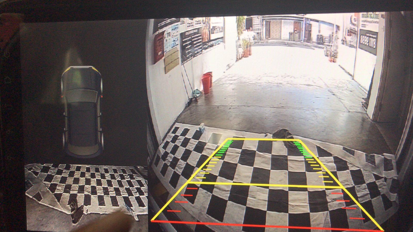Pixels AHD Enhanc3D Reverse camera 120°
