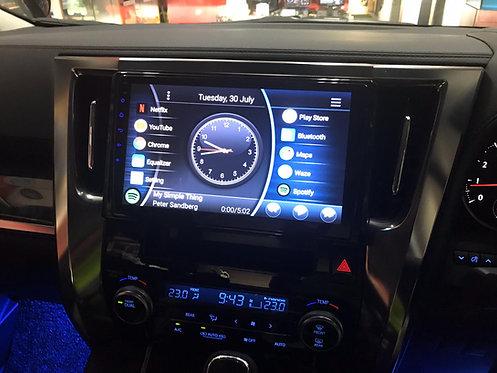 "Android ATC 10.2"" Toyota Vellfire / Alphard 2015 ~"