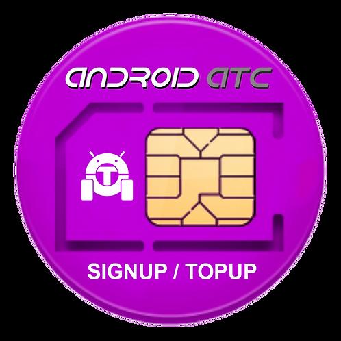 Data SIM Signup / TOPUP