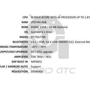 All new P900S specifications