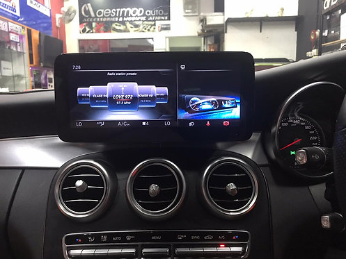 Android ATC Mercedes C300 2015-2018