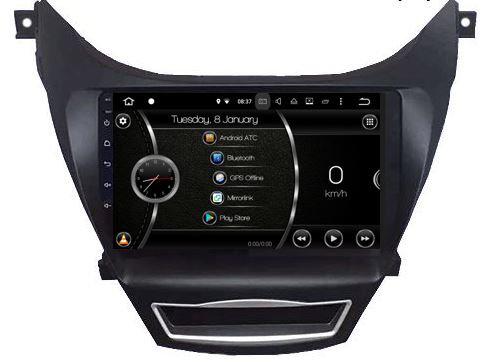 "Android ATC 10"" Hyundai Elantra"