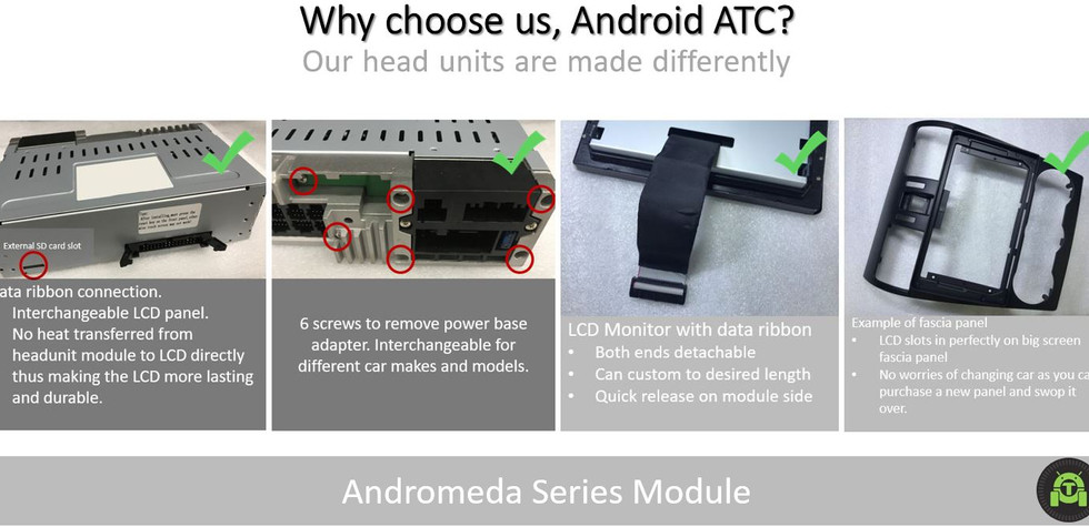 Andromeda | Android Atc | Android ATC Infotainment Systems | Geylang