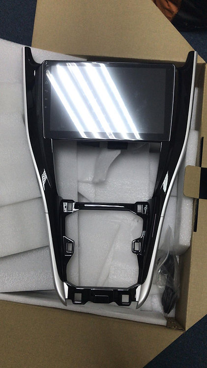 """Toyota Harrier 2DIN fascia for 10.2"""" 2016UP"""
