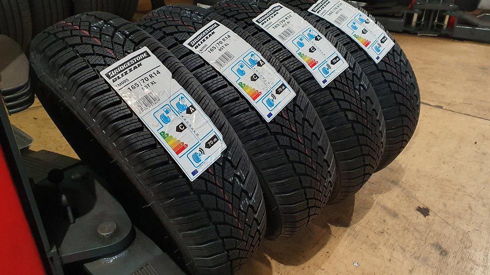 4Stk. Bridgestone Blizzak LM005 165/70R14 85T XL