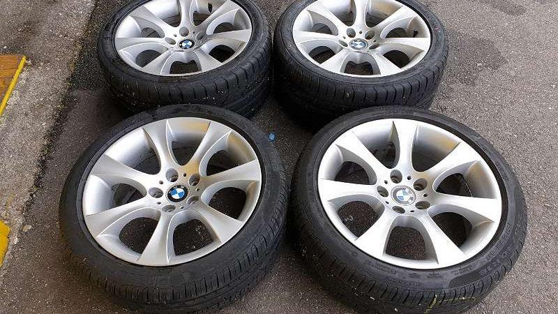 BMW E60 5er Original BBS Alufelgen mit Fast Neu 245/40R18 93Y. 275/35ZR18 99Y