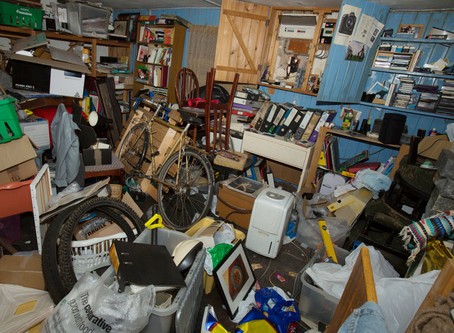 Are you a Hoarder?  3 Things to help you know if you are becoming a hoarder.