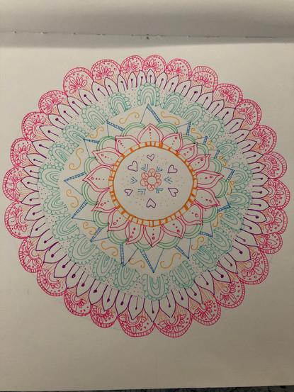 Mandala by Evie Sanchez