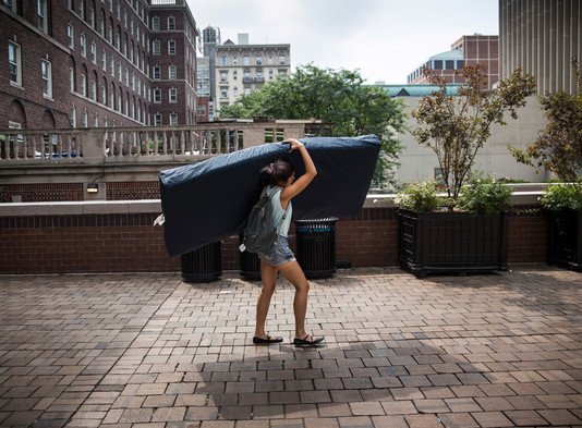 Carry That Weight: A Campaign for Sexual Assault Awareness on Campus