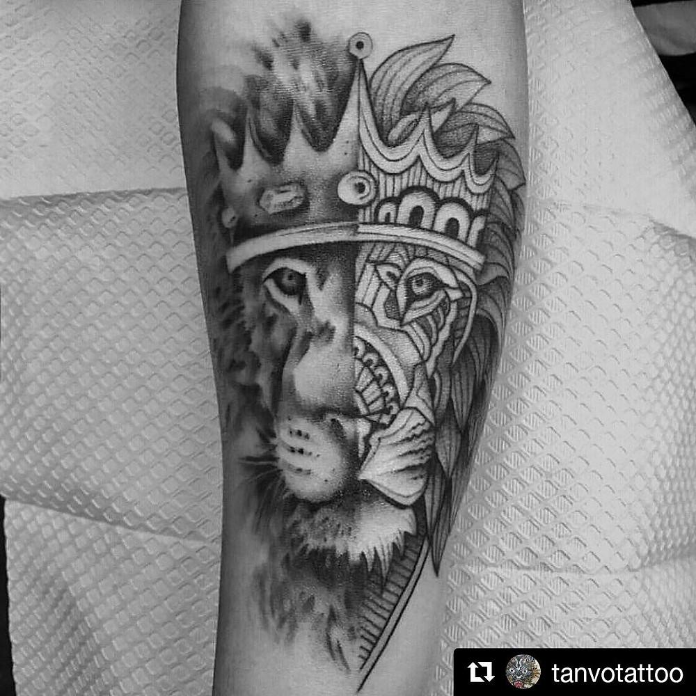 Best of Instagram lion from Tan Vo--fierce!