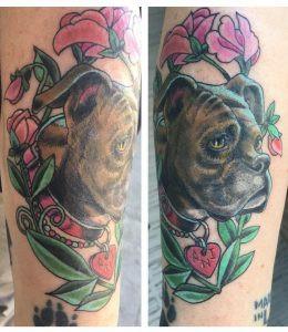 Dog portrait by Suzanne Shifflett, seen on our social media!