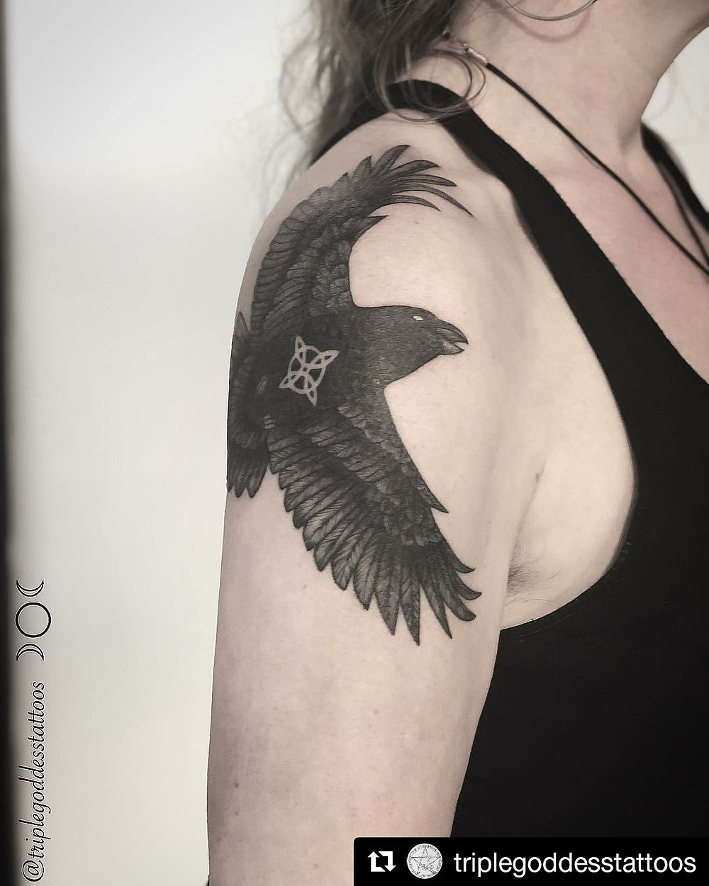 Raven by Joy Shannon, just time for Halloween!
