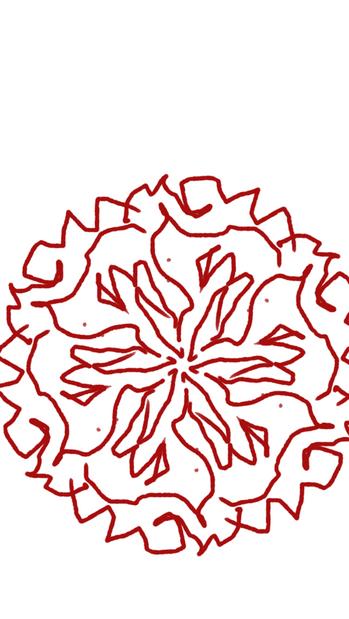 Digital Mandala by M