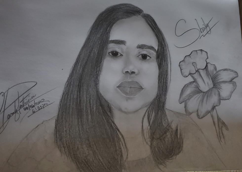 Portrait by Claritz Patricia