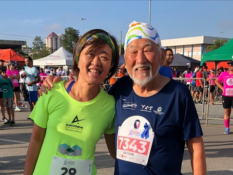 Corredor de 94 anos vai realizar a Meia Maratona Internacional de Florianópolis